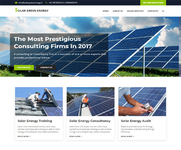 Solar energy solutions provider compay in Mumbai